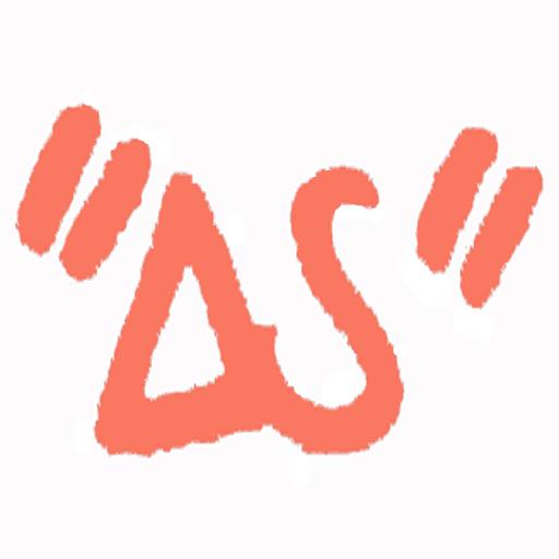 ウェブ漫画ΔSのロゴ