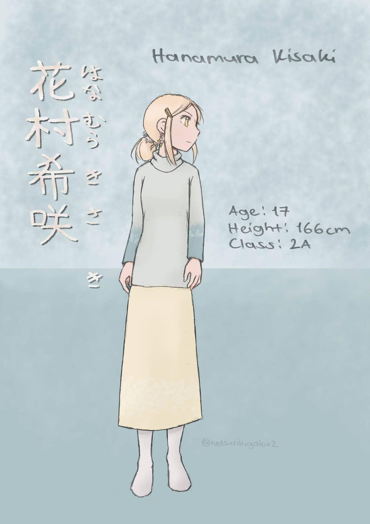 花村希咲のキャラクター紹介